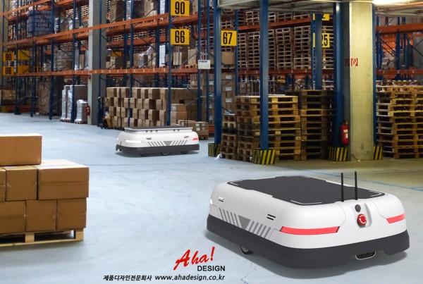 #이동로봇#자율이동로봇(AMR)#물류창고로봇#무인운반차#제품디자인전문회사#아하디자인